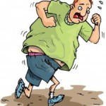O jogging não é para meninos…