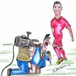 O Cristiano Ronaldo ligou-me…