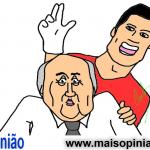 Cartoon de Janeiro, por Carlos Moreira