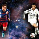 Ronaldo 5-5 Messi: o final perfeito
