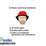 Cartoon +opinião – O bombeiro Nuno Crato por Carlos Moreira