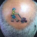 Antes um careca cheio de ideias do que um cabeludo idiota! – Gil Oliveira