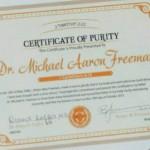 O belo do certificado