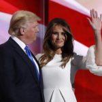 A mulher de Donald Trump