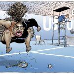 Deu os cinco minutos a Serena!