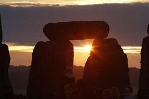 O solstício de Inverno num templo pagão
