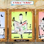 Daqui não saio – Cartoon de Francisco Capelo